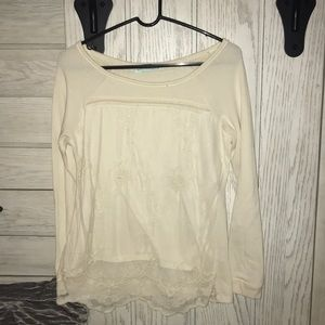 Maurices cream sweater